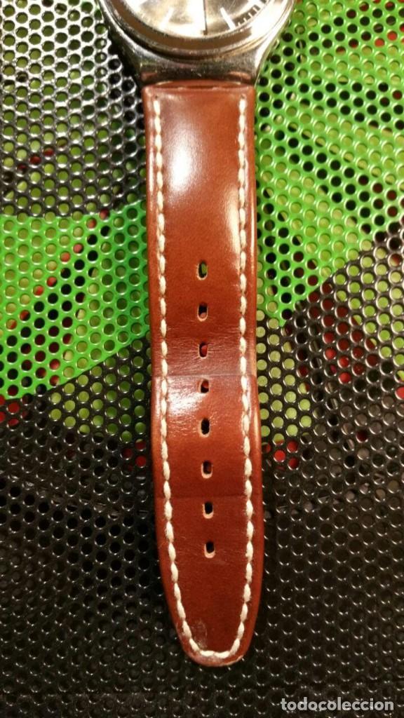 Relojes - Swatch: RELOJ SWATCH IRONY, PULSERA DE PIEL - R5 - Foto 3 - 146924430