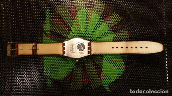 Relojes - Swatch: RELOJ SWATCH IRONY, PULSERA DE PIEL - R5 - Foto 4 - 146924430