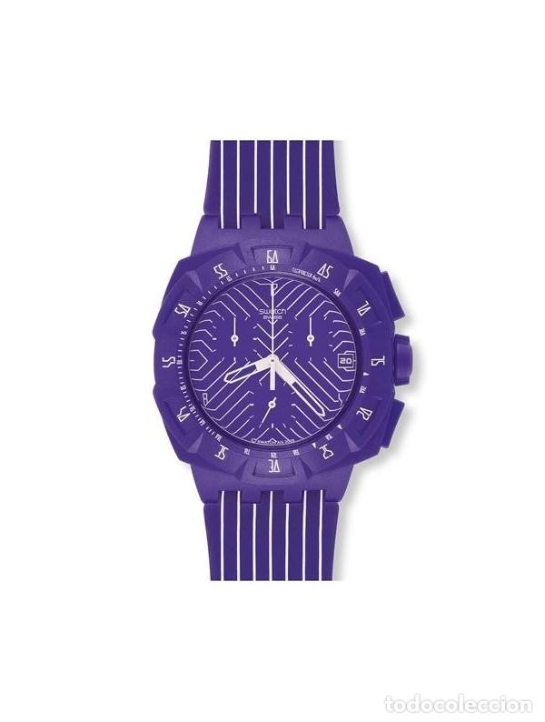Swatch Purple Suiv401 Purple Run Reloj Swatch Suiv401 Reloj N8n0kwOPX