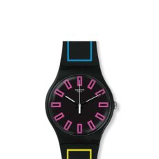 Relojes - Swatch: RELOJ SWATCH - SUOB146 - AROUND THE STRAP. Lote 147137808