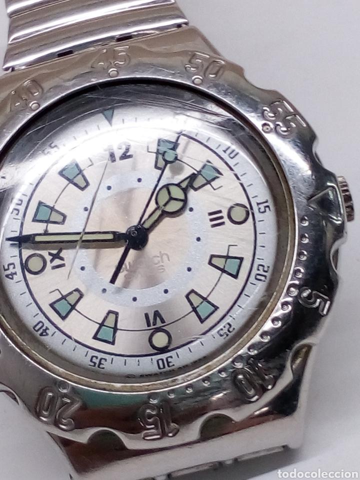 Relojes - Swatch: Reloj Swatch swiss caja acero en funcionamiento - Foto 3 - 147227109