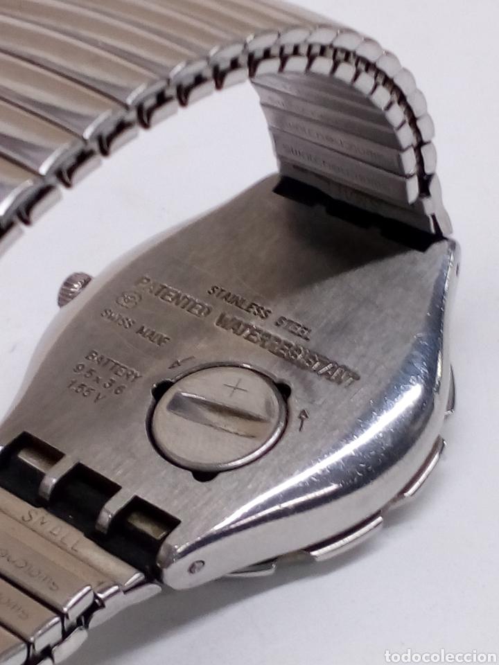 Relojes - Swatch: Reloj Swatch swiss caja acero en funcionamiento - Foto 2 - 147227109