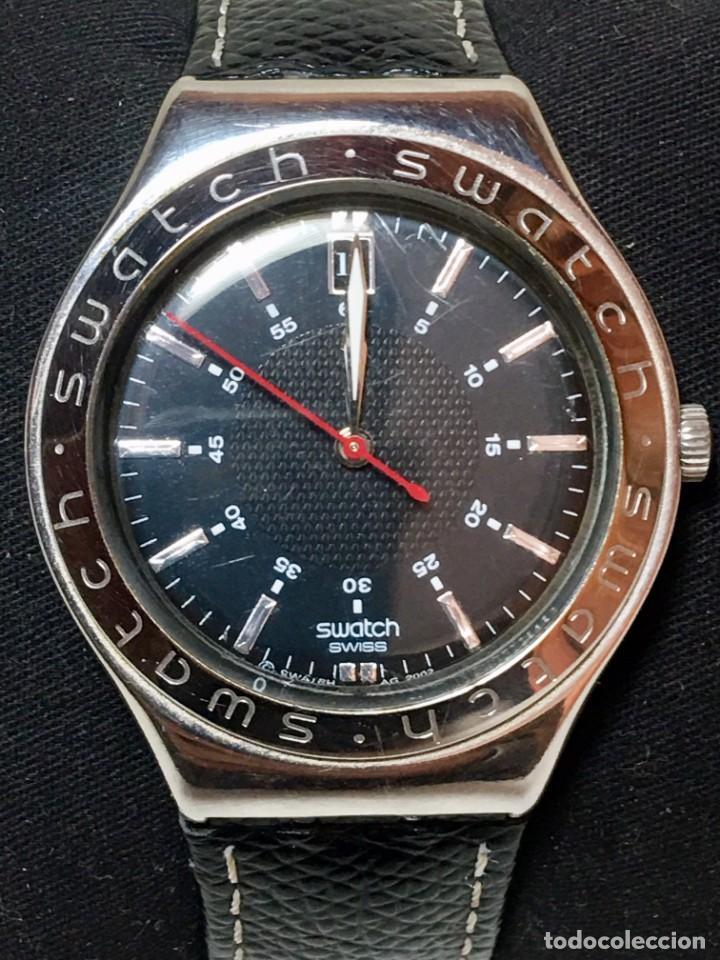 Relojes - Swatch: Reloj Swatch Irony Stainless Steel con correa original - Calendario - Funcionando - Foto 2 - 147335874