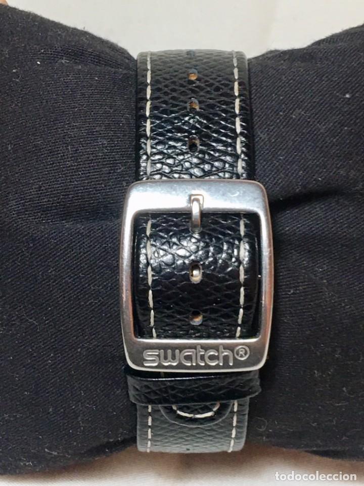 Relojes - Swatch: Reloj Swatch Irony Stainless Steel con correa original - Calendario - Funcionando - Foto 3 - 147335874