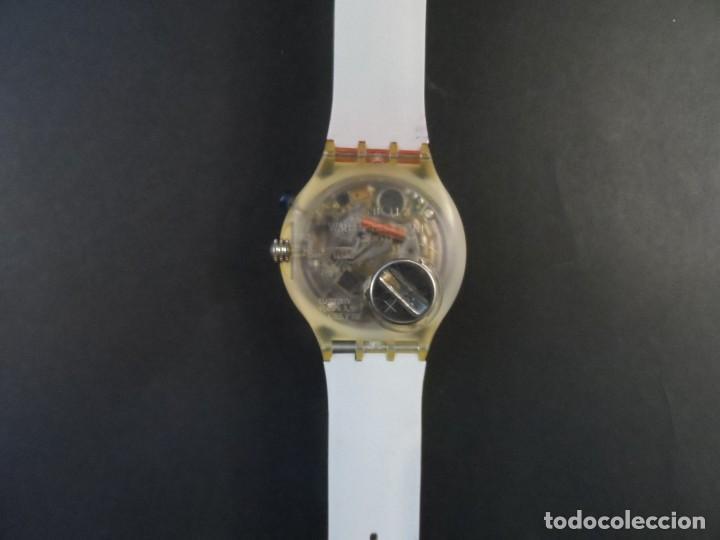 Relojes - Swatch: RELOJ SWATCH.MODELO SCUBA 200. QUARTZ. WATER RESISTANT 200 MTS. SIGLO XX - Foto 3 - 147587234