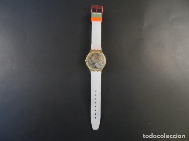 Relojes - Swatch: RELOJ SWATCH.MODELO SCUBA 200. QUARTZ. WATER RESISTANT 200 MTS. SIGLO XX - Foto 4 - 147587234