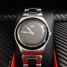 Relojes - Swatch: RELOJ DE SEÑORA O CADETE SWATCH CON ARMIS DE ACERO.. Lote 147942430