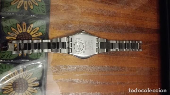 Relojes - Swatch: RELOJ DE SEÑORA O CADETE SWATCH CON ARMIS DE ACERO. - Foto 5 - 147942430