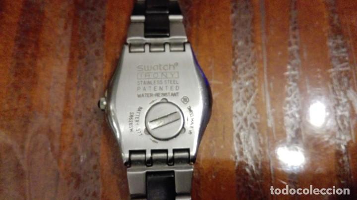 Relojes - Swatch: RELOJ DE SEÑORA O CADETE SWATCH CON ARMIS DE ACERO. - Foto 6 - 147942430