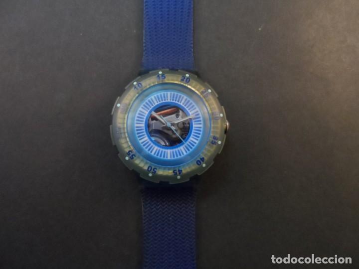 RELOJ SWATCH.MODELO SCUBA 200. ATLANTA 1996. QUARTZ. WATER RESISTANT 200 MTS. SIGLO XX (Relojes - Relojes Actuales - Swatch)