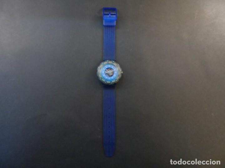 Relojes - Swatch: RELOJ SWATCH.MODELO SCUBA 200. ATLANTA 1996. QUARTZ. WATER RESISTANT 200 MTS. SIGLO XX - Foto 2 - 148345062