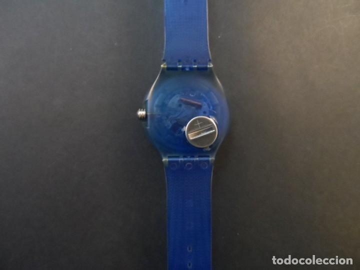 Relojes - Swatch: RELOJ SWATCH.MODELO SCUBA 200. ATLANTA 1996. QUARTZ. WATER RESISTANT 200 MTS. SIGLO XX - Foto 3 - 148345062