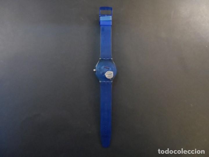 Relojes - Swatch: RELOJ SWATCH.MODELO SCUBA 200. ATLANTA 1996. QUARTZ. WATER RESISTANT 200 MTS. SIGLO XX - Foto 4 - 148345062