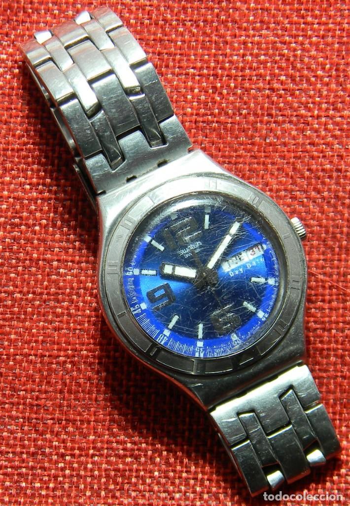Relojes - Swatch: Reloj marca Swatch modelo Irony - Stainless Steel - Cabadello - Suizo. Numerado. Para piezas - Foto 2 - 150193326