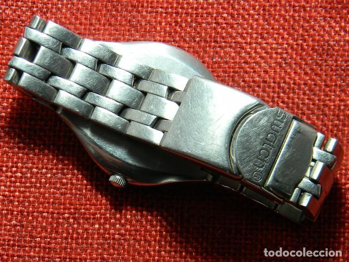 Relojes - Swatch: Reloj marca Swatch modelo Irony - Stainless Steel - Cabadello - Suizo. Numerado. Para piezas - Foto 3 - 150193326