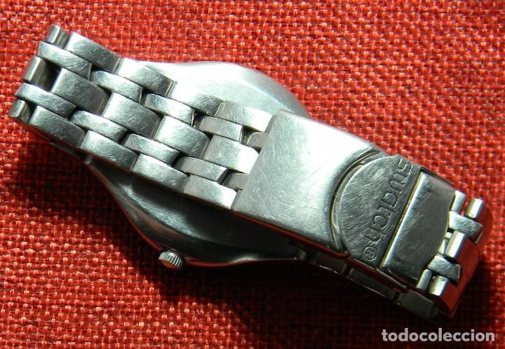 Relojes - Swatch: Reloj marca Swatch modelo Irony - Stainless Steel - Cabadello - Suizo. Numerado. Para piezas - Foto 4 - 150193326