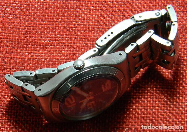 Relojes - Swatch: Reloj marca Swatch modelo Irony - Stainless Steel - Cabadello - Suizo. Numerado. Para piezas - Foto 5 - 150193326