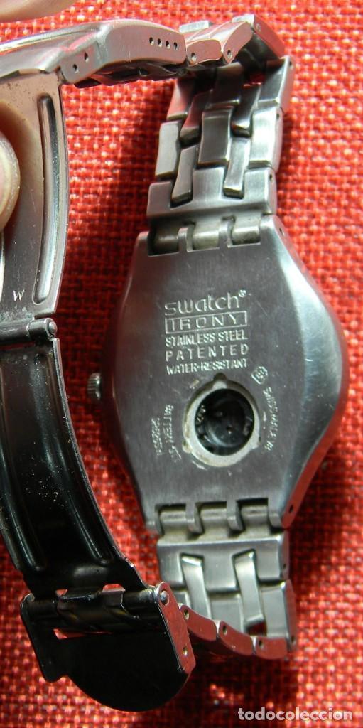 Relojes - Swatch: Reloj marca Swatch modelo Irony - Stainless Steel - Cabadello - Suizo. Numerado. Para piezas - Foto 7 - 150193326
