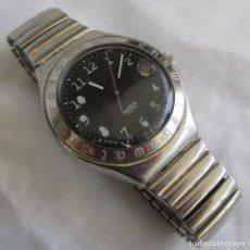 Relojes - Swatch: RELOJ DE PULSERA SWATCH FUNCIONANDO, CORREA METÁLICA ELÁSTICA. Lote 153537742