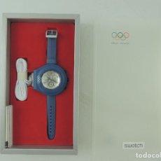 Relojes - Swatch: INTERESANTE RELOJ SWATCH IRONY JUEGOS OLIMPICOS OFICIAL TIMEKEEPER . Lote 153829582