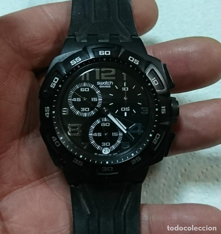 RELOJ SWATCH CON CRONÓMETRO ANALOGICO (Relojes - Relojes Actuales - Swatch)