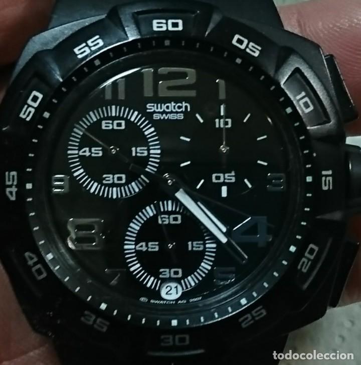 Relojes - Swatch: RELOJ SWATCH CON CRONÓMETRO ANALOGICO - Foto 2 - 156178090