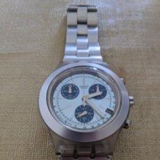 Relojes - Swatch: SWATCH IRONY CHRONO DIAPHANE ICESTORM FLIP. Lote 156529938