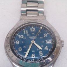 Relojes - Swatch: RELOJ SWATCH QUATRZ EN ACERO COMPLETO Y EN FUNCIONAMIENTO. Lote 158681850