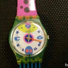 Relojes - Swatch: RAREZA DE RELOJ SWATCH , ESFERA AL REVES, NUMERO AL REVES QUARZ PARA COLECCIONISTAS.. Lote 159765246