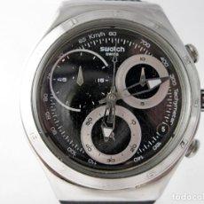 Relojes - Swatch: GRAN CRONO SWATCH IRONY ACERO INOX / BIG STAINLESS STEEL SWATCH IRONY CHRONO. Lote 160109322