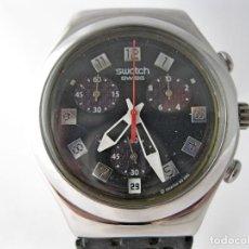 Relojes - Swatch: GRAN CRONO SWATCH IRONY ACERO INOX / BIG STAINLESS STEEL SWATCH IRONY CHRONO. Lote 160109518