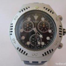 Relojes - Swatch: CRONO SWATCH IRONY ALUMINIO / SWATCH IRONY ALUMINIUM CHRONOGRAPH. Lote 160109822