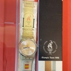 Relojes - Swatch: RELOJ SWATCH OLIMPICO 1996 ATLANTA ESPAÑA. Lote 164784605