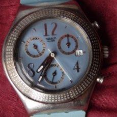 Relojes - Swatch: RELOJ ACERO INOXIDABLE SWATCH IRONY CON CORREA UN POCO DETERIORADA. Lote 165159294