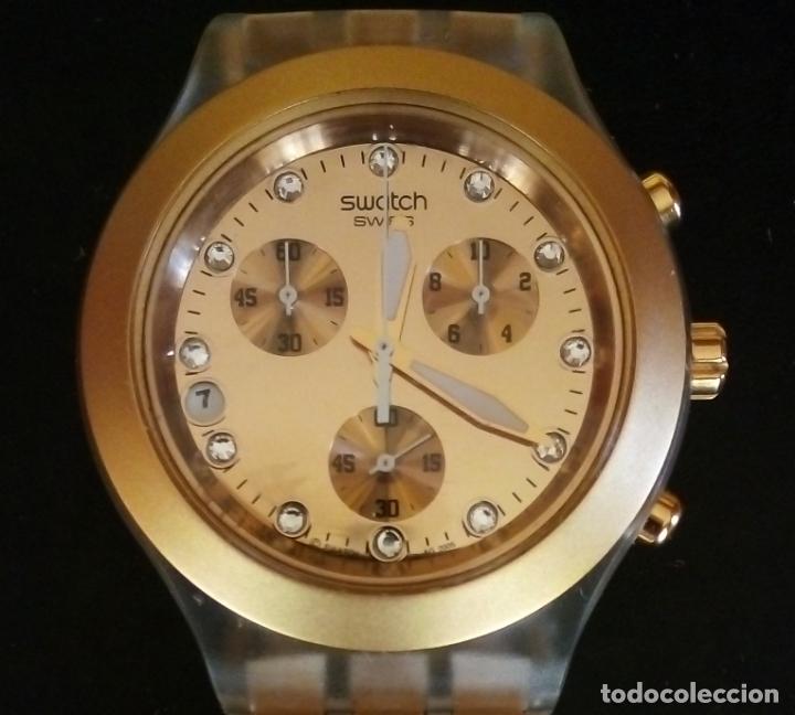 Relojes - Swatch: RELOJ SWATCH SWISS 'IRONY' DIAPHANE. - Foto 2 - 166130498