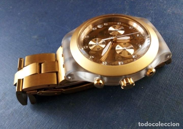 Relojes - Swatch: RELOJ SWATCH SWISS 'IRONY' DIAPHANE. - Foto 3 - 166130498