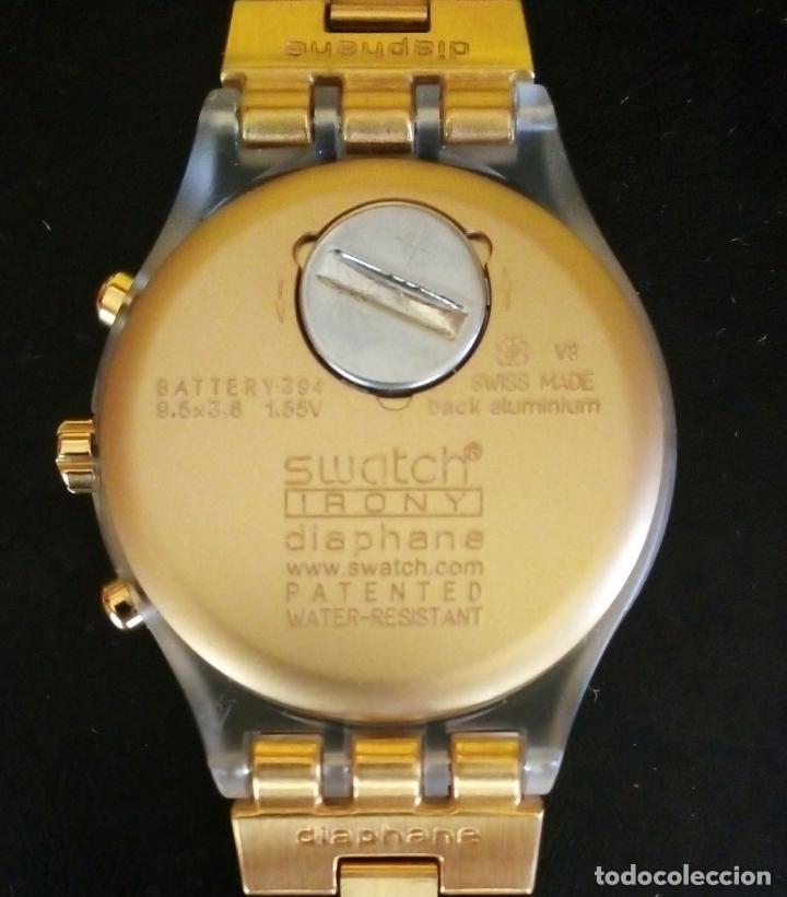 Relojes - Swatch: RELOJ SWATCH SWISS 'IRONY' DIAPHANE. - Foto 4 - 166130498