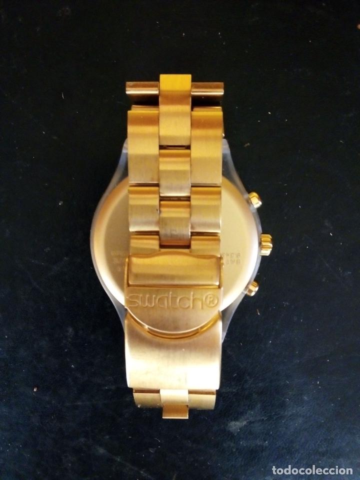 Relojes - Swatch: RELOJ SWATCH SWISS 'IRONY' DIAPHANE. - Foto 5 - 166130498