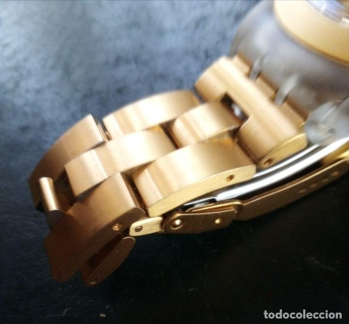 Relojes - Swatch: RELOJ SWATCH SWISS 'IRONY' DIAPHANE. - Foto 6 - 166130498