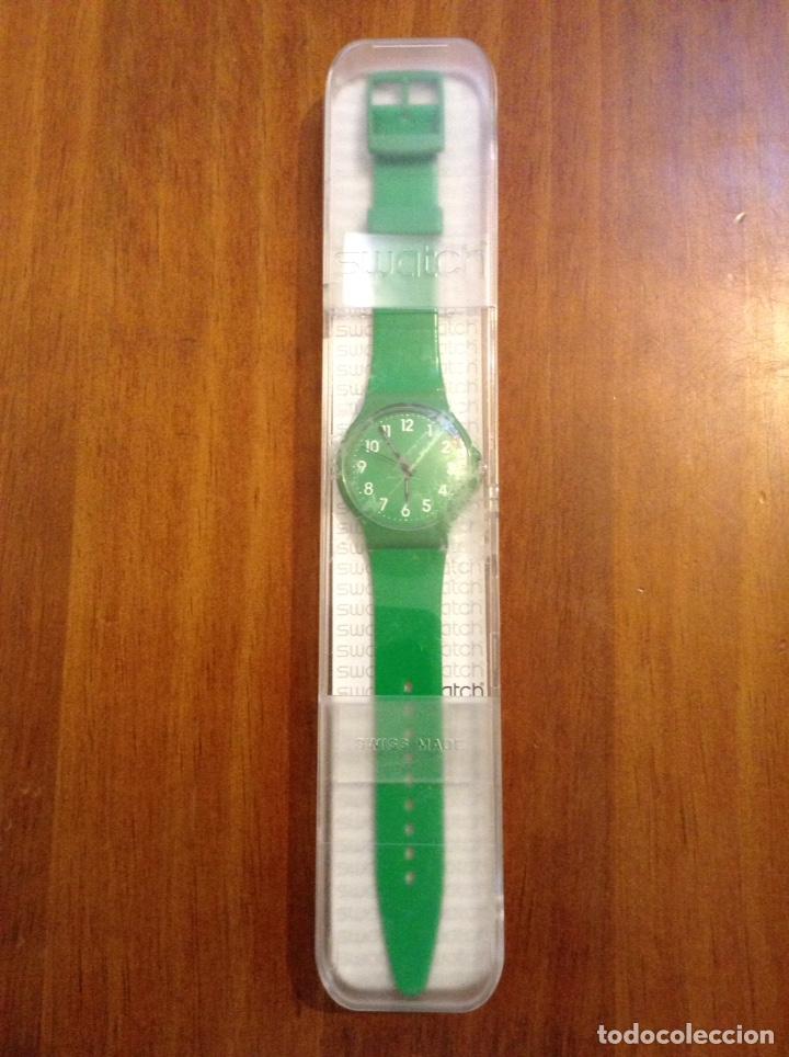 RELOJ SWATCH VERDE MODELO GM170C A ESTRENAR (Relojes - Relojes Actuales - Swatch)