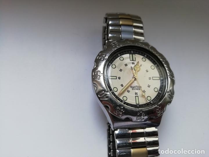 Relojes - Swatch: Reloj de pulsera vintage marca Swatch modelo Mercedes Benz 1995. Waterresistant. Correa original - Foto 2 - 171342357