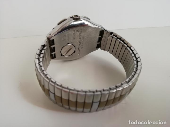 Relojes - Swatch: Reloj de pulsera vintage marca Swatch modelo Mercedes Benz 1995. Waterresistant. Correa original - Foto 3 - 171342357