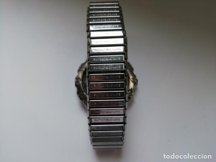 Relojes - Swatch: Reloj de pulsera vintage marca Swatch modelo Mercedes Benz 1995. Waterresistant. Correa original - Foto 4 - 171342357