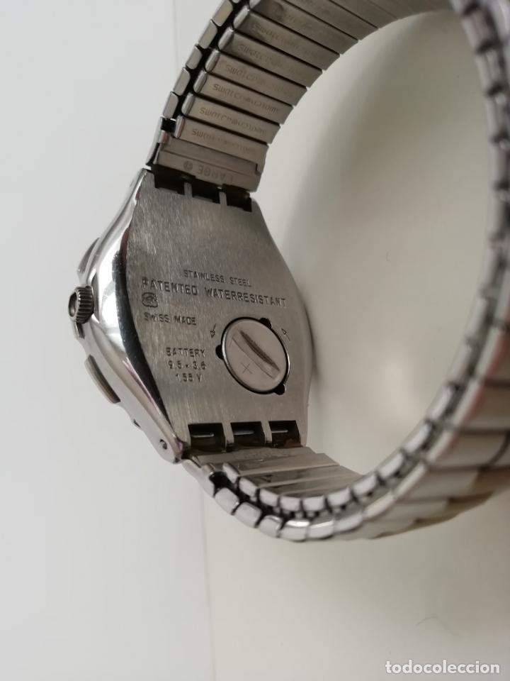 Relojes - Swatch: Reloj de pulsera vintage marca Swatch modelo Mercedes Benz 1995. Waterresistant. Correa original - Foto 5 - 171342357