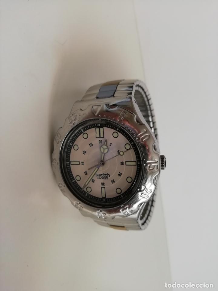 Relojes - Swatch: Reloj de pulsera vintage marca Swatch modelo Mercedes Benz 1995. Waterresistant. Correa original - Foto 6 - 171342357