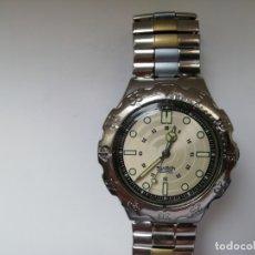 Relojes - Swatch: RELOJ DE PULSERA VINTAGE MARCA SWATCH MODELO MERCEDES BENZ 1995. WATERRESISTANT. CORREA ORIGINAL. Lote 171342357