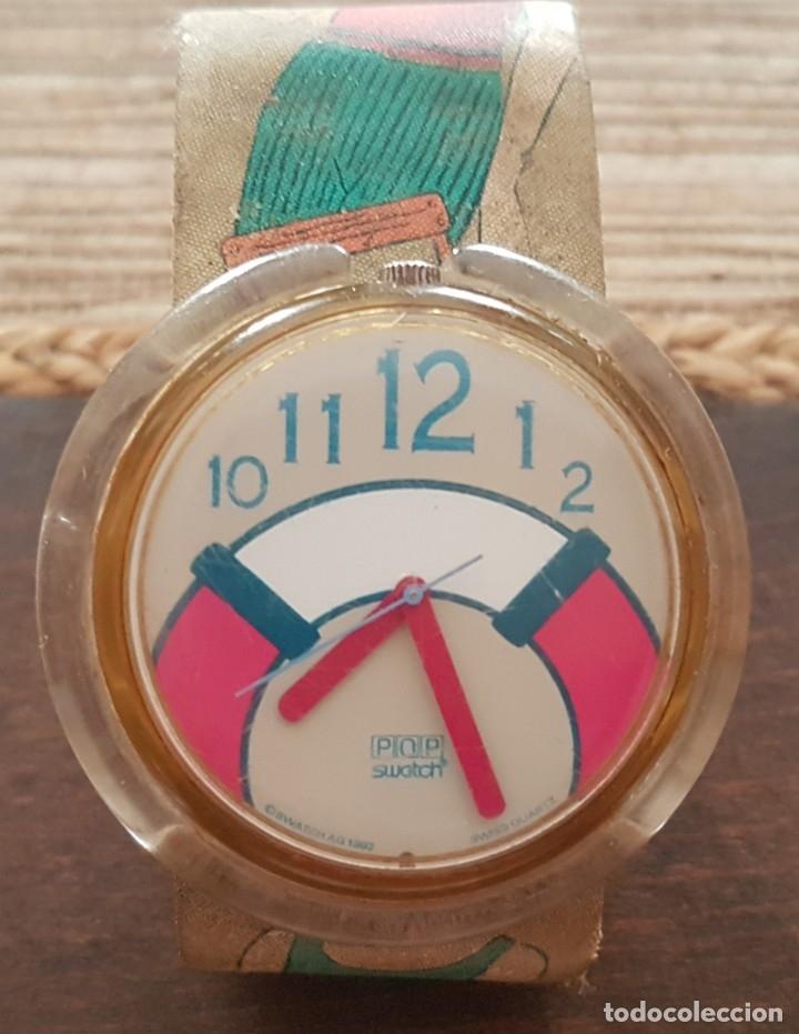 RELOJ SUIZO SWATCH POP 1992 FUNCIONANDO (Relojes - Relojes Actuales - Swatch)