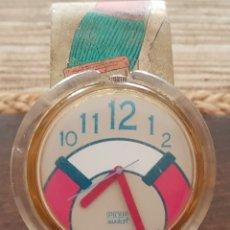 Relojes - Swatch: RELOJ SUIZO SWATCH POP 1992 FUNCIONANDO . Lote 172414673
