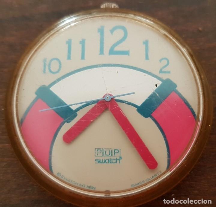 Relojes - Swatch: RELOJ SUIZO SWATCH POP 1992 FUNCIONANDO - Foto 2 - 172414673