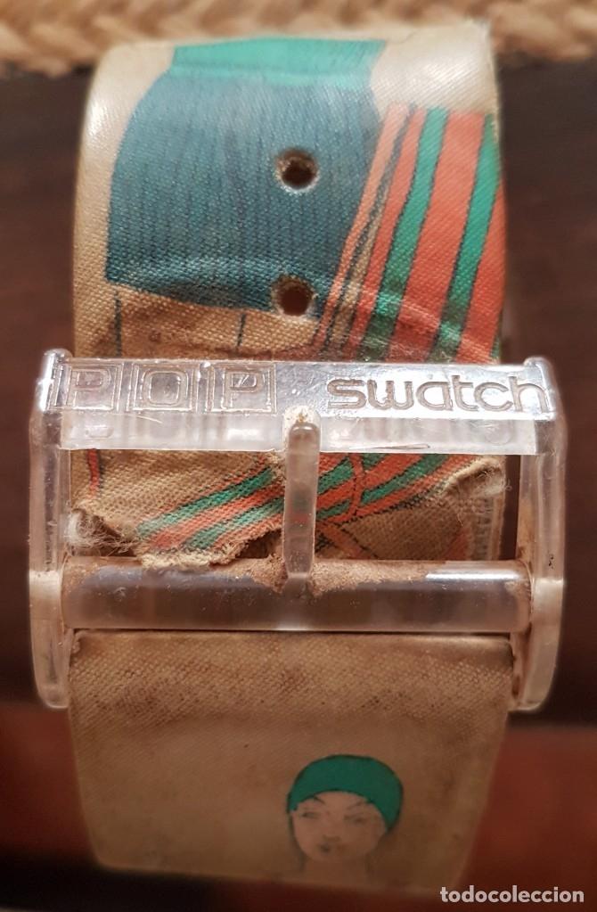 Relojes - Swatch: RELOJ SUIZO SWATCH POP 1992 FUNCIONANDO - Foto 4 - 172414673